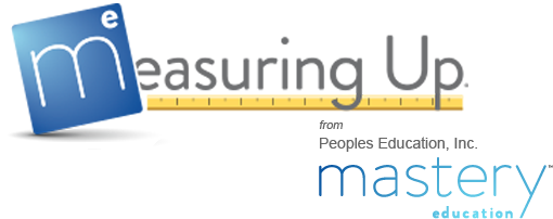 Measuring Up from Peoples Education Inc. DBA - Mastery Education